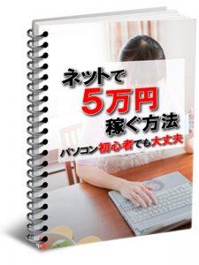 ネットで5万円稼ぐ方法(主婦表紙)